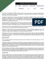 Definition Development Communication