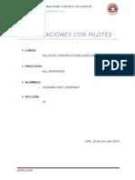 Cimentaciones Con Pilotes