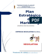 Plan Estratégico Negolatina