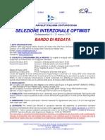 Bando Selezione Interzonale Civitavecchia 2010