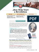 4.2 Ideas Help Start an Revolution