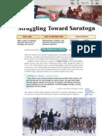 4 3 struggling toward saratoga