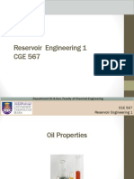 Oil Properties