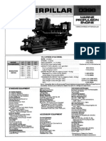 Cat D398 Lubrication and Maintenance Chart2