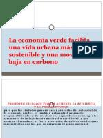 La Economía Verde Facilita Una Vida Urbana Más (2)