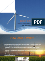 wind energy finished powerpoint