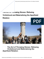 The Act of Throwing Stones_ Refusing Victimhood and Materializing the Apartheid Relation _ the FUNAMBULIST MAGAZINE