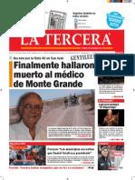 Diario La Tercera 22.10.2015