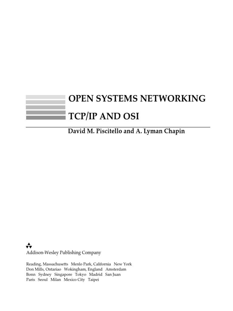 open sistems networking tcp ip vs osi osi model internet