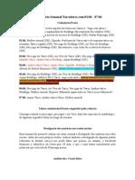 2º Relatório Semanal Torcedores.com 01.06 - 07.06