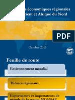 Perspectives Économiques Régionales Moyen Orient Et Afrique Du Nord