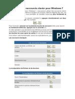 Les principaux raccourcis clavier pour Windows 7.pdf