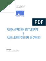 flujo en presión de tuberías