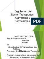 regulacion de transportes