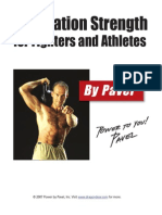 PAVEL - Foundation Strength for Fighters