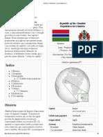 Gâmbia – Wikipédia, A Enciclopédia Livre