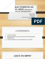 Características Del Bpm (Business Process Mangement)