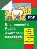 Environmental Public Awareness Handbook