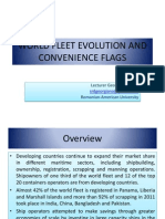 World Fleet Evolution and Convenience Flags