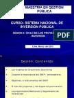 II Normatividad y Ciclo Proyectos