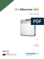 ABX Micros 60-Manual