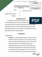 Lumber Liquidators Statement of Facts