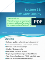 Lecture11 - Software Quality