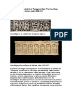 Sarcófago de La Catedral de Tarragona Siglo IV