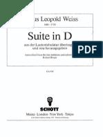 Weiss - Suite in D