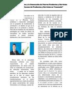 Gerencia de Mercadeo y Generación de Nuevos Productos y Servicios