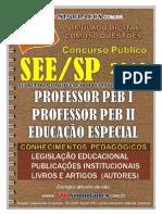 Professores Peb1-Peb2 See-sp Parte Geral Pedag Gica - Vmsimulados Divulgacao