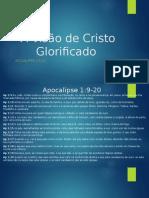 A Visão de Cristo Glorificado
