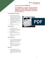 Especificaciones analizador de quimica V350