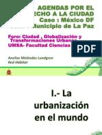 Foro Ciudad Globalización y Transformaciones Urbanas