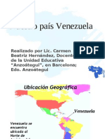 Venezuela, nuestro país
