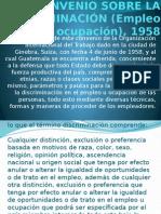 Cii Convenio Sobre La Discriminación (Empleo y