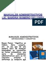Estructura de Manuales Administrativos