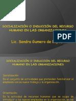 Socialización o Inducción Del Recurso Humano