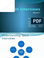 Talent Interview 5