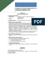 Bases Convocatoria Auditoria Externa 2014 Enero 2015