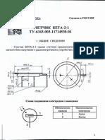 """BETA 2-1"" Counter Manual"