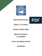 Reporte La Iniquidad Elaine Cruz.doc