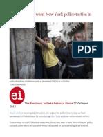 Israeli Settlers Want New York Police Tactics in Jerusalem