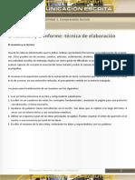 6 El resumen y el informe - Técnica de elaboración
