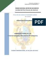 Protección Radiológica y Descontaminación Radioquímica