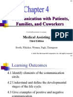 Communicating With Patients Families and Coworkers