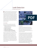GE Relief Valve Leak Detection