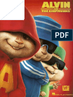 Alvin and the Chipmunks Piano-Vocal-Guitar