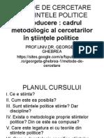 CURS 1 metode de cercetare in stiinta politica