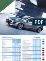 Catálogo Mazda 3 2010